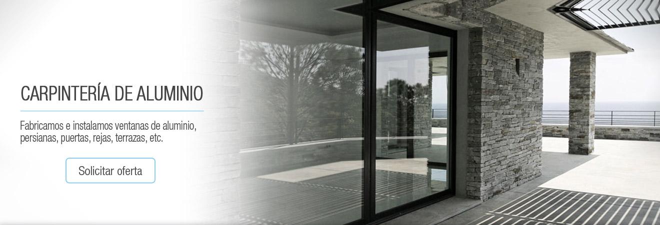 Ventanas de aluminio barcelona cristaleria en barcelona - Carpinteria de aluminio terrassa ...