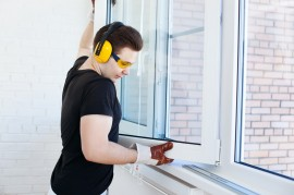 instalación ventanas aluminio