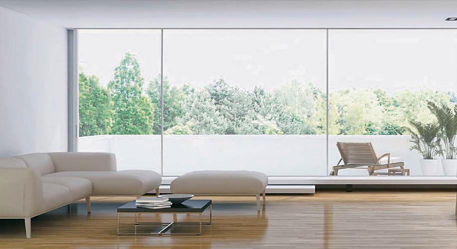 Ventana corredera minimalista en barcelona empresa - Ventanas de aluminio en barcelona ...