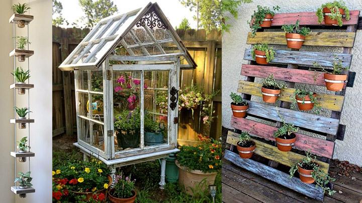 Reciclaje-creativo-jardin